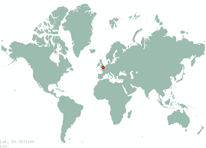 Liberec in world map
